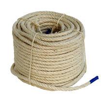 Sisalseil Schnur (ab 0,16?/m) gedreht rund 2,2mm bis 10mm Ø Band Kordel Seil
