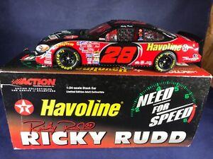 H2-91 RICKY RUDD #28 TEXACO HAVOLINE / NEED FOR SPEED 2001 FORD TAURUS