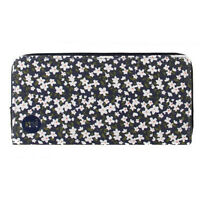 Mi-Pac Zip Purse Ditsy Floral Navy Genuine BNWT