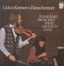 9500912 GIDON KREMER AND ELENA KREMER Stravinksy Prokofiev Ravel Milhaud Satie