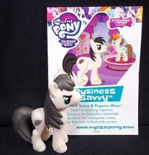 """MLP Open Friendship is Magic mystery bag Business Savvy My Little Pony 1.75"""" NEW"""