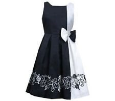 Bonnie Jean Black White Party / xmas Girls Dress 4-5yrs (5)NWT