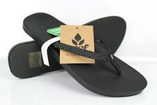 Reef Women's Cushion Bounce Woven Flip Flop Sandals Black RF0A3OKU