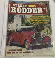 Street Rodder Magazine July 1974 Oakland Roadster Show SLEEVED