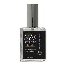 Max Attract Hypnotic Sex Attractant Cologne Pheromone 30ml - Same Day Dispatch -