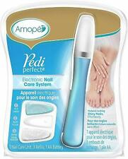 Pedi Perfect Nail Care System - Electronic Manicure/Pedicure Tool - w/ WARRANTY