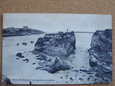 The Islands & Sands , Newquay , Cornwall  - posted 1936