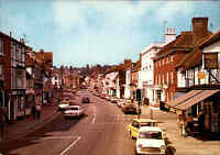 Great Britain Postcard Henley-on-Thames Oxfordshire High Street Scene Postkarte