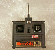 FUTABA BIONIC oro 18 29.805MHz AM Radio Control Remoto Rc ch transmisor Vintage Raro