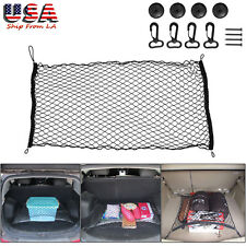 Universal Durable Nylon Mesh Rear Trunk Luggage Storage Organizer Net for SUV