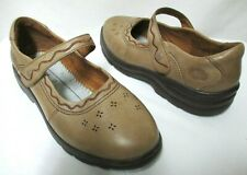 Dr. Comfort Leather Sunshine Diabetic hook & loop Mary Jane shoes Size Sz 9.5 W