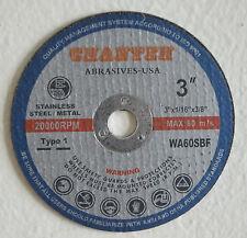 "200pcs 3""x.045""x3/8"" Cutting Disc 4 Air cutoff tool - Wholesale lot"