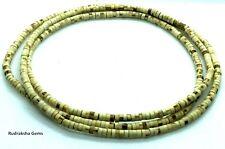 Tulsi DoubleTriple Round Necklace / Hare Krishna Kanthi Mala Handmade Tulsi YOGA