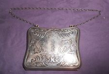 Victorian Sterling Silver Purse/Card Case -  Blackinton