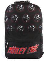Rock Sax Motley Crue Rucksack Heavy Metal Power Black Backpack