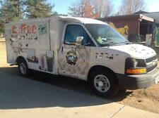 Awesome 2003 Chevrolet 3500 Coffee Truck Ready To Grind Mobile Cafe For Sale I