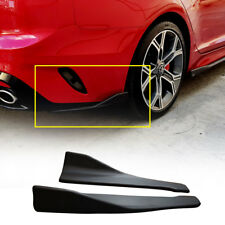 Rear Cup Wing Body Kit Matt Black Garnish 2Pcs For KIA 2017 - 2018 Stinger