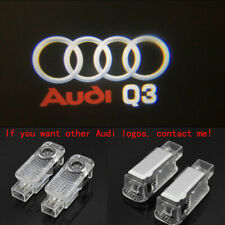 Audi Q3 2X LED Light HD Logo Projector Emblem Ghost Shadow Door Welcome Light