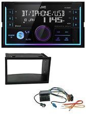 JVC AUX 2DIN USB MP3 Bluetooth Autoradio für VW Golf IV Polo Passat T4 Fox Quadl