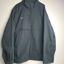 Nike Mens Grey Zip Up Jacket Sz 4XL Large Tech Fleece Insulated