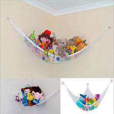 Child Large Toy Soft Hammock White Kids Bedroom Stuffed Plush Doll Storage Net