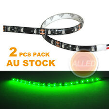 2X12V Waterproof  Car Lamp 30cm LED DIY Flexible Interior/Exterior Strip Light
