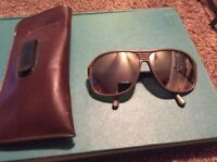 Vintage Eyeglasses Cabot Safety Glasses Brown