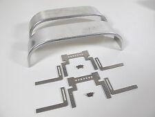 Custom Aluminum Fender with Frame Mount for Tamiya 1/14 Semi King Hauler & other