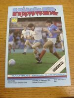 21/02/1984 West Ham United v Watford  . Bobfrankandelvis the sellers of the item