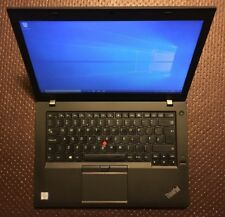Lenovo ThinkPad T460, i5vPro-6300U, 4GB RAM, 500GB HDD, Windows 10 Pro 64-Bit