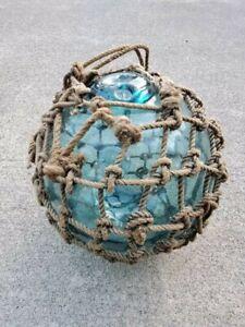 """36.5"""" Vintage Japanese Glass Fishing Float WP#9"""