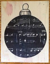 Christmas Ornament Rubbermoon Rubber Stamp