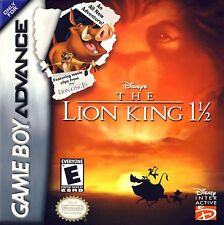 NEW SEALED Game Boy Advance Disney's The Lion King 1 1/2 Video Game movie GBA