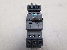 SIEMENS 3RV2711-1DD10 3.2AMP 3POLE 600Y/347V CIRCUIT BREAKER XLNT TAKEOUT M/O!!