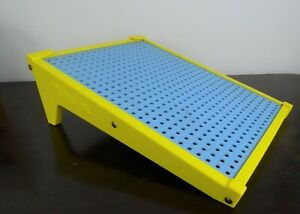 Playskool Play Tiles Table Easel Vintage 1970's Peg Board Only