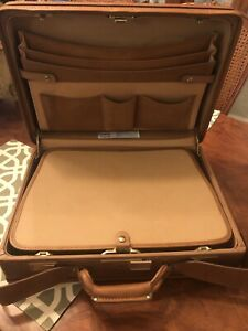 "Vintage NOS Hartmann Belting Leather Briefcase Luggage Business 18""x14""x5"""