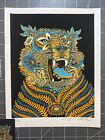Emek Carnival Tiger 8x10 Mini Print - Limited Edition x/500 - Includes sticker