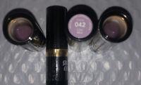 4 SEALED Revlon Super Lustrous Creme Lipstick # 042 Lilac Mist 4 Lots Sealed New