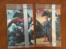 Lot of 2 Mini Comic Books Batman/Superman Dawn Of Justice Cereal Box Give-Aways