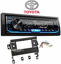 JVC KD-X350BTS Single DIN Car In-Dash Receiver For 1998-2002 Toyota Corolla