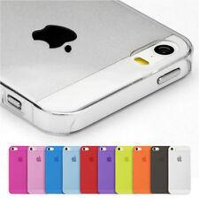 iPhone 4 4S Cover dünn Hülle Schale Bumper Slim Case klar matt transparent Etui
