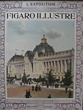 LE FIGARO ILLUSTRE L'EXPOSITION 1900 N 122