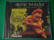 """STEVIE WONDER """"Kiss Away Your Tears""""  3 Versions PINOCCHIO ~ 1996 Motown ~ NEW"""