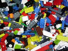 Lego 1 Kilo of Bricks Slopes Wheels Parts Pieces + Free Postage + Free Mini-fig