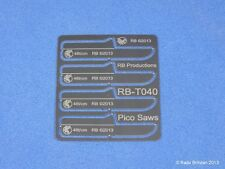 Rb Productions Rb-T040 Pico Saws Set