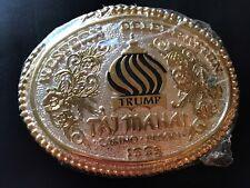 1993 Western Celebration Trump Taj Mahal Casino Resort Award Design Belt Buckle