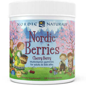NORDIC NATURALS Nordic Berries Multivitamin for Kids and Adults FREE SHIPPING