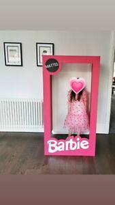 Life Size Barbie Box 4ft photobooth selfie event hire