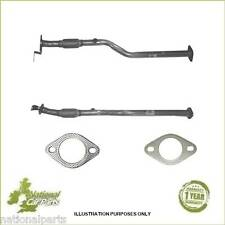 New Hyundai Coupe 1.6 01-09 Klarius Exhaust Centre Front Flexi Pipe +Gasket Kit
