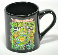 Teenage Mutant Ninja Turtles Since 84 Coffee Tea Mug Black 14 oz 2015 TMNT
